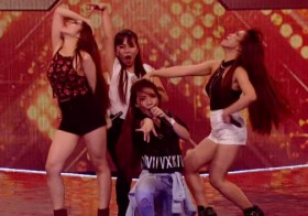 """Watch X Factor UK Pinay Girl Group 4th Power Completely OWN Christina Aguilera's """"Show Me How You Burlesque"""" … WOW"""