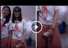 This Chilling Ghost  Was Caught on Cam At A Rizal High School… Well, I'm Not Sleeping Tonight!