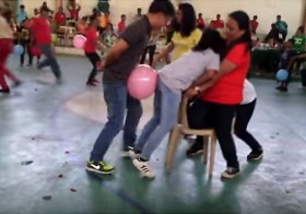 This Filipino Balloon Game Is So Insanely Awkward It Will Make You Laugh Until Your Face Hurts!