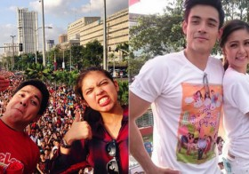 The 4 Hottest Love Teams Participated In This Year's MMFF Parade But The Crowd Went NUTS Over ALDUB!