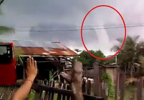 Watch How The Power Of Prayer Actually Stopped This Tornado From Destroying A Village In The Philippines
