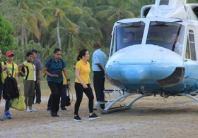 Kris Aquino Just Revealed That She Got Bashed By Online Bashers For Riding In The Presidential Chopper